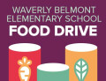 Waverly-Belmont Food Drive